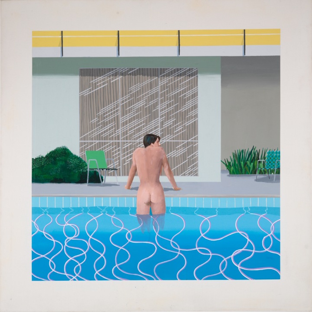 David Hockney - Peter Getting Out of NIck's Pool 1966