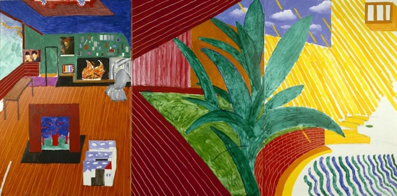 David Hockney_Hollywood Hills House 1981-82