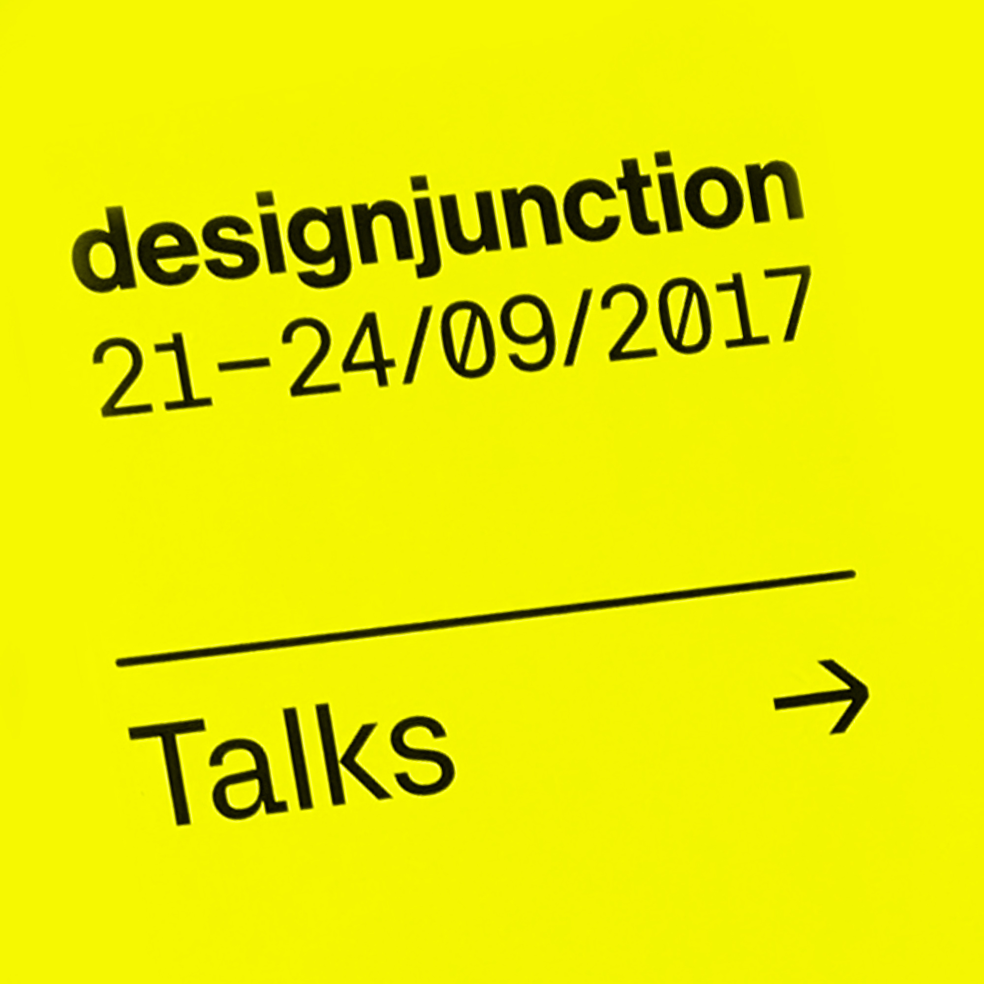 design-junction-talks